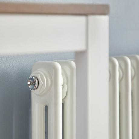 Side of a double column radiator