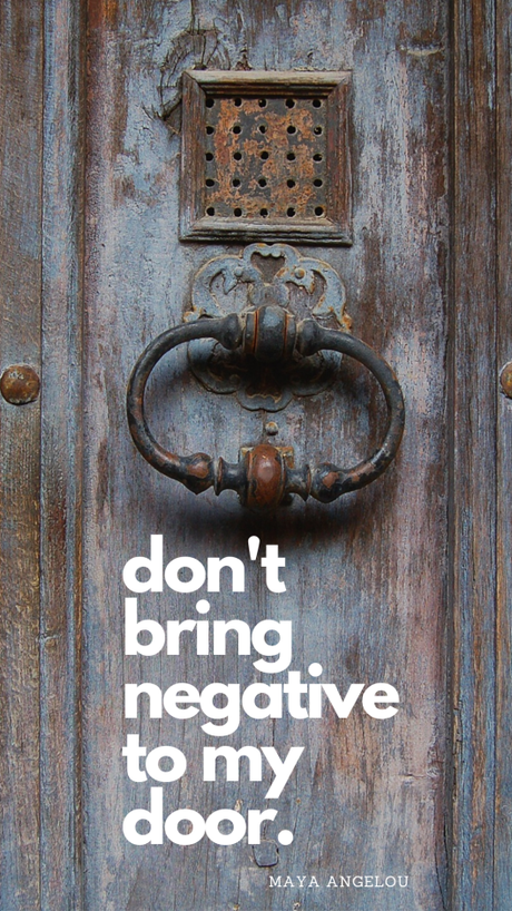 Podcast 11 : Don't Bring Negative To My Door