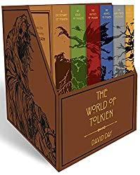 Image: Tolkien Boxed Set (Word Cloud Classics) | Flexibound: 1,504 pages | by David Day (Author). Publisher: Thunder Bay Press (May 5, 2020)
