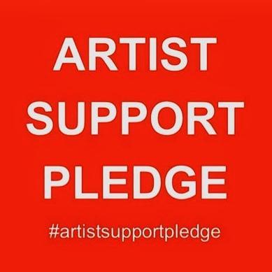 Artist Support Pledge - Mini Paintings