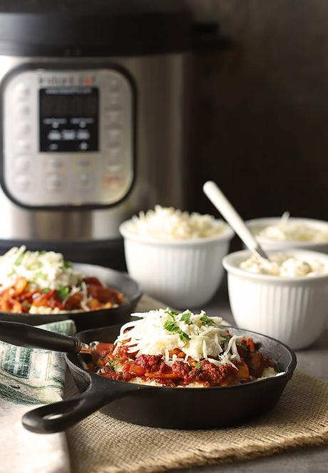 Quick Cheesy Lasagna – Instant Pot (or Stove-top)