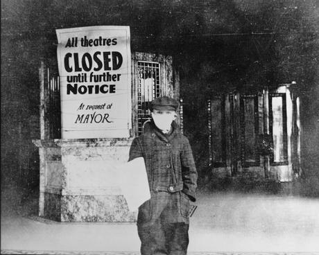 """""""Facing Seemingly Imminent Ruin"""": Looking Back at the Film Industry's Response to the 1918 Spanish Flu"""