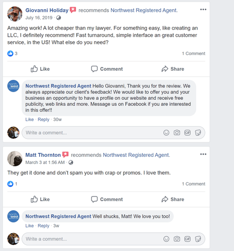Northwest Registered Agent Review 2020 : Should You Start a Business With Them?