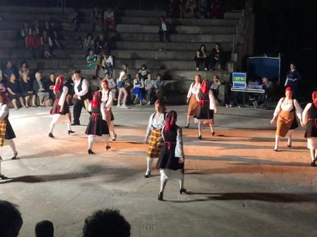 Dancing in the Dark on Greece's Skopelos Island