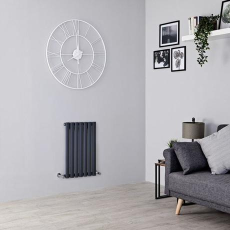 small Aruba radiator in a small living room