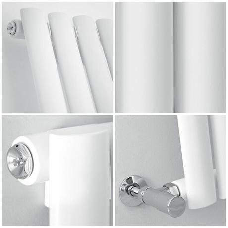 quad image of a milano aruba radiator