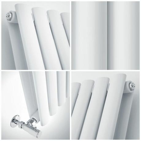 quad image of a small aruba radiator