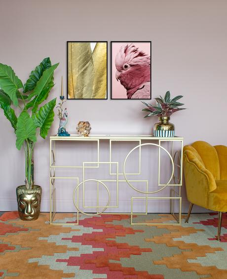 Paint colours for 2020. Blush Pink colour inspiration - Sicilian Summer 4 by Dulux