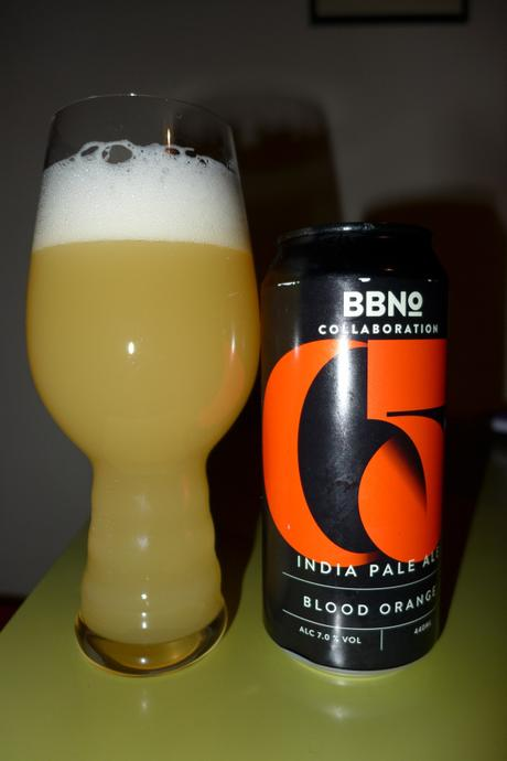 Tasting Notes: Brew By Numbers: Broaden and Build: C5 India Pale Ale – Blood Orange