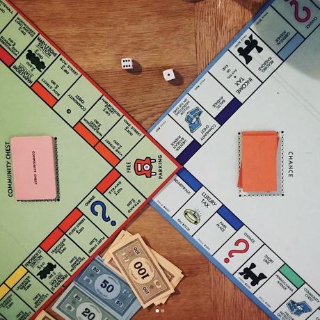 Double Board Monopoly!