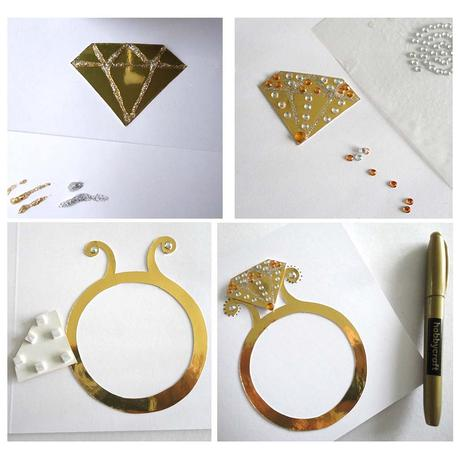How To Make Your Own Handmade Engagement Card