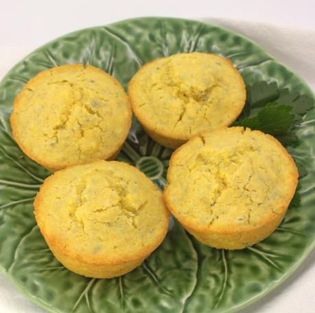 Small Batch Corn Muffins #MuffinMonday