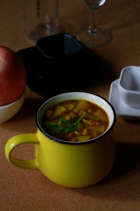 Apple rasam recipe | Easy rasam recipe