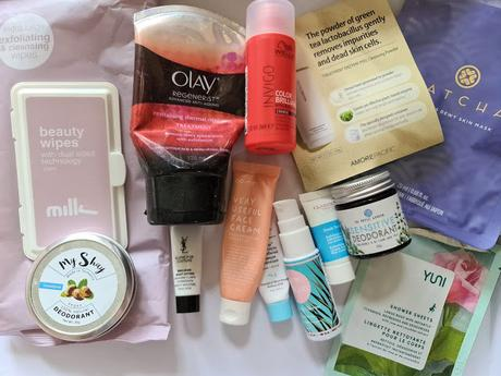 February and March empties