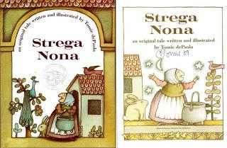 Tomie dePaola and Strega Nona