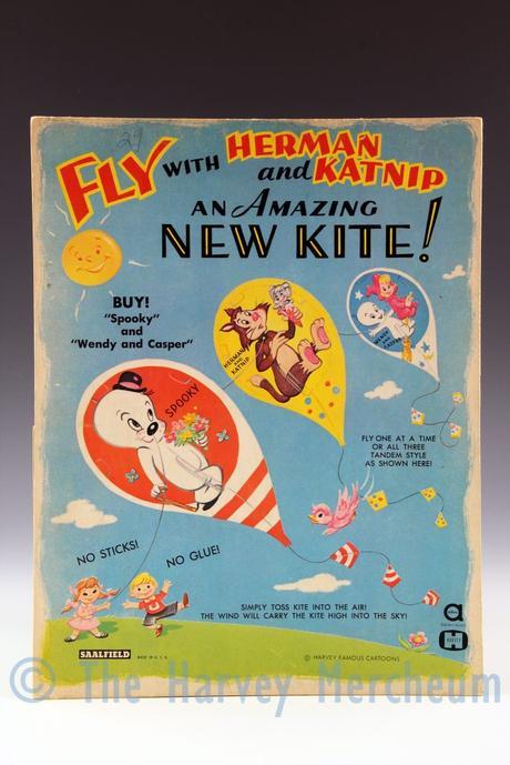 Herman and Katnip kite front view