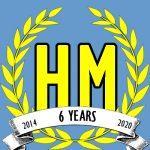 Harvey Mercheum Six Year Anniversary logo image