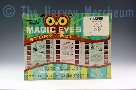 Casper Tru-Vue Magic Eyes Story Set front view