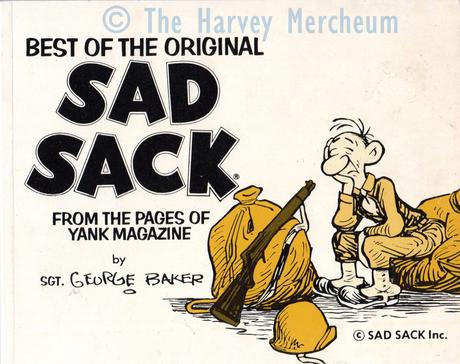 Sad Sack 1978 paperback front cover