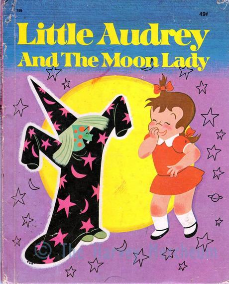 Little Audrey and the Moon Lady front cover