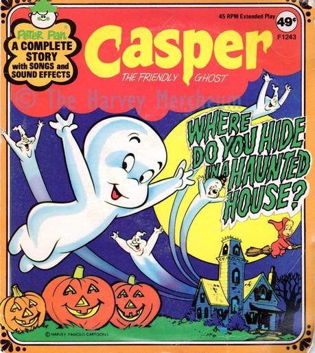 Casper 45rpm record sleeve front