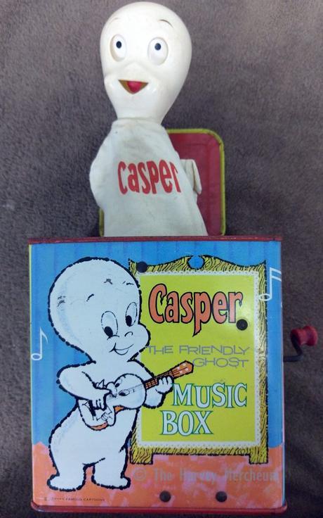 Casper Music Box open view