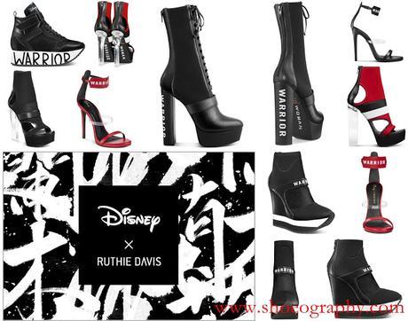 Disney X Ruthie Davis Launches Mulan Warrior Collection