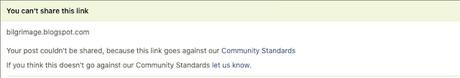 Facebook Censoring Links Postings About Belligerent Response Many