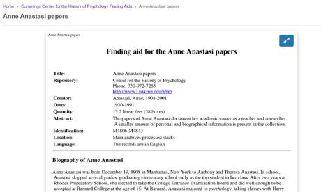 Finding the Finding Aids