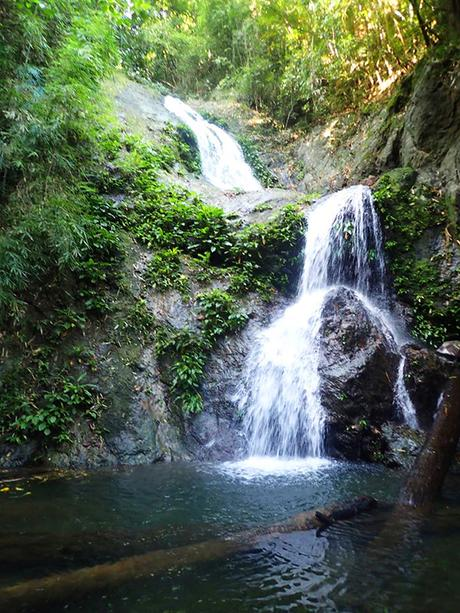 3 layers of waterfalls