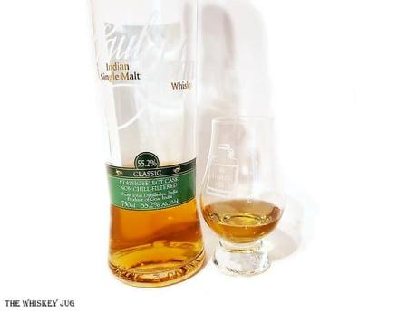 No reason to not enjoy this whisky. Aroma is fun and fruity with a light tropical fruit essence hiding under the heavier orchard fruit layer; Palate is rich, heavy and bold with a wall of complex fruit; Finish is a warm bold fade of its core notes.