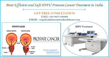Most Efficient and Safe HIFU Prostate Cancer Treatment in India