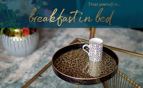 Treat yourself to breakfast in bed with a good book!
