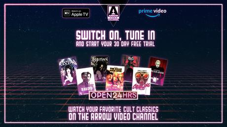 ARROW VIDEO CHANNEL – NOW FREE FOR 30 DAYS!