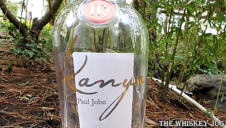Paul John Kanya Single Malt Label 2