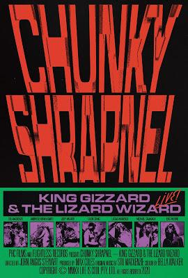 KING GIZZARD & THE LIZARD WIZARD ANNOUNCE CHUNKY SHRAPNEL CONCERT FILM AND ACCOMPANYING DOUBLE LP LIVE ALBUM