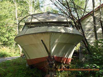 1975 bayliner victoria abaonded alaska rotting in style