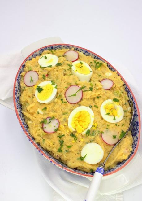 Old-Fashioned Mashed Potato Salad