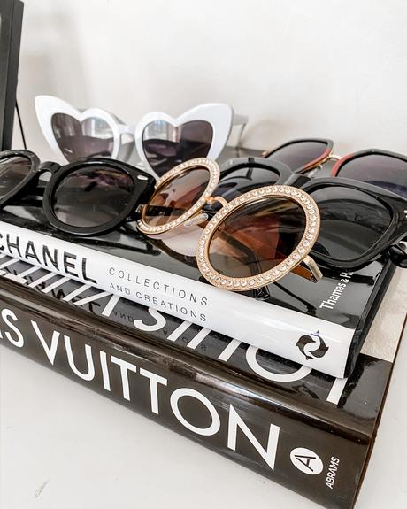 Designer inspired sunglasses on Amazon for less than $20