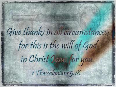 A grateful heart will remain unshaken