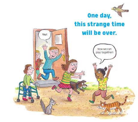 Free Information Book Explaining the Coronavirus to Children, Illustrated by Gruffalo Illustrator