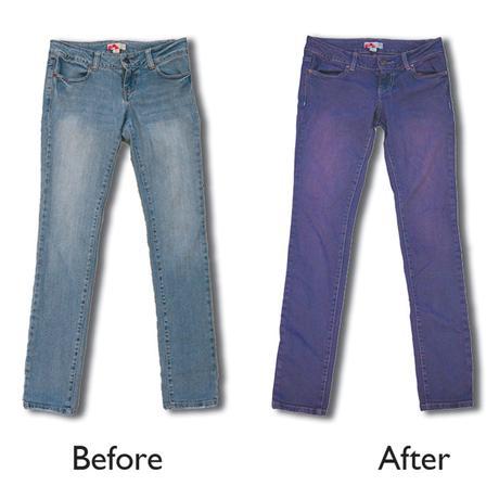 How to Overdye Denim Jeans