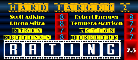 ABC Film Challenge – Action – H – Hard Target 2 (2016) Movie Review