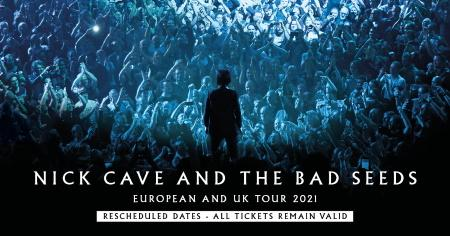 Nick Cave & The Bad Seeds:  European tour dates moved to 2021