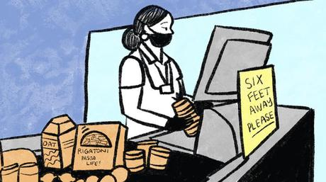 Grocery Workers Beginning To Get Sick & Some Have Died