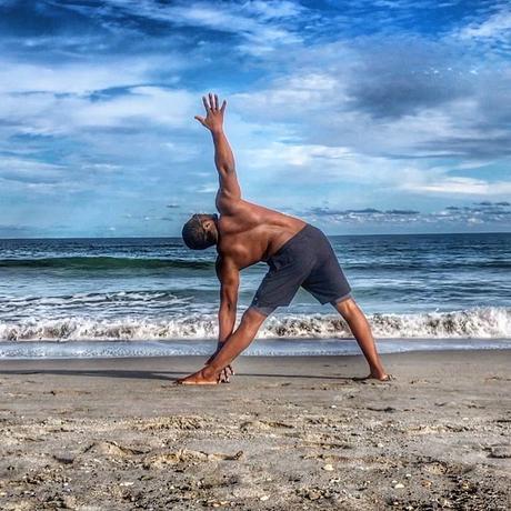 Triangle Posture (Trikonasana) Pose