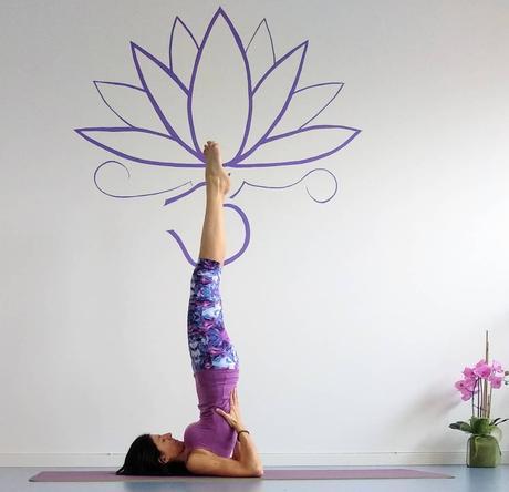 Shoulder Stand (Sarvangasana) Posture