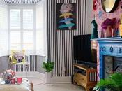 House Tour: Bright Family Home with Quirky Details Unexpected Colour Pops