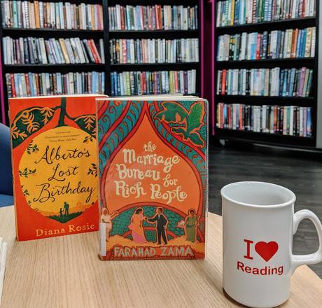 library book club Telford Shropshire