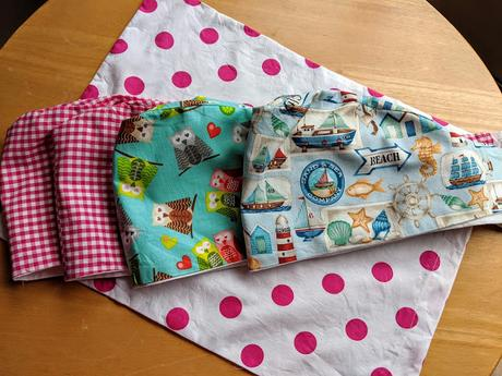 Sewing for Shropshire NHS